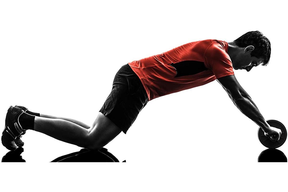 Bauchtrainer AB Roller Muskeltrainer