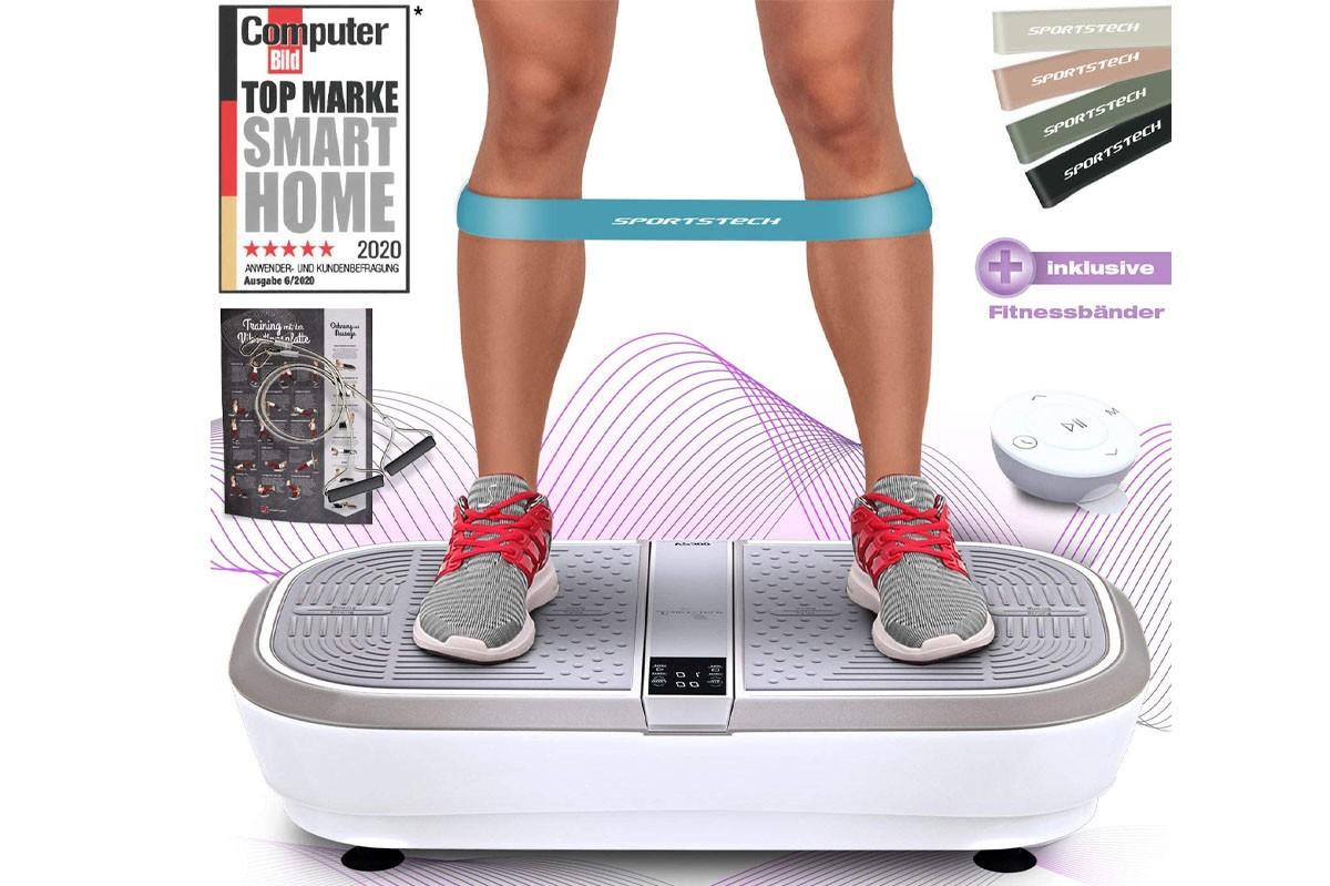 Sportstech 3D Vibrationsplatte VP300
