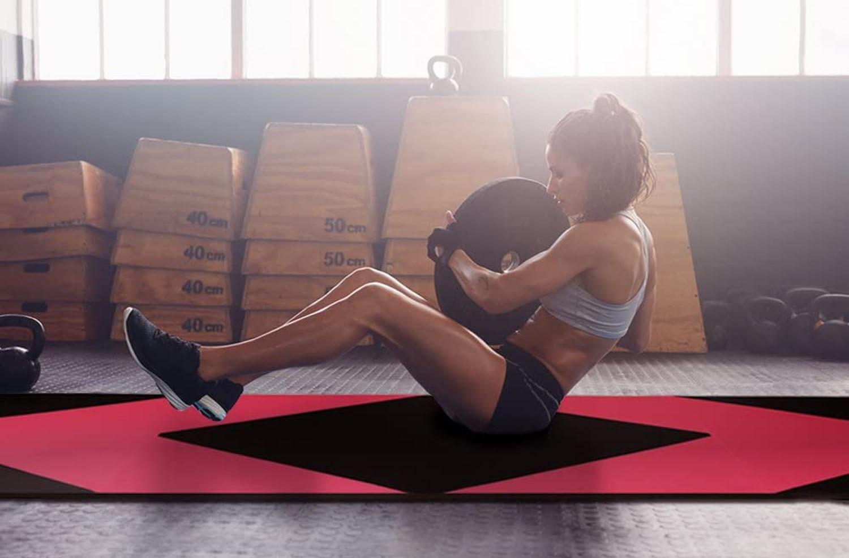CCLIFE Turnmatte Weichbodenmatte Klappbar für zuhause Fitnessmatte